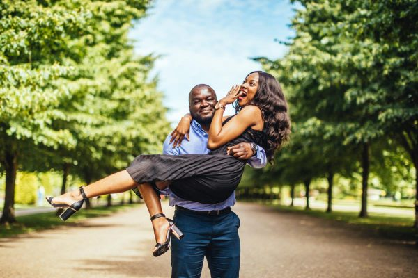 Ijeoma and MaxwellEngagement Shoot